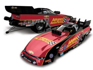 courtney force 2018 advance auto parts funny car diecast