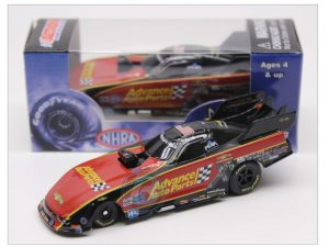 courtney force 2018 adavnce autoparts 1/64 funny car diecast
