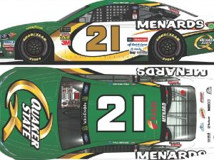 paul menard 2018 menards quaker state oil diecast car