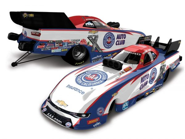 robert hight 2018 auto club southern california funny car diecast