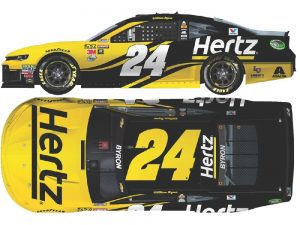 william byron 2018 hertz diecast car