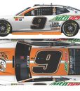 chase elliott 2018 mountain dew/little caesars diecast