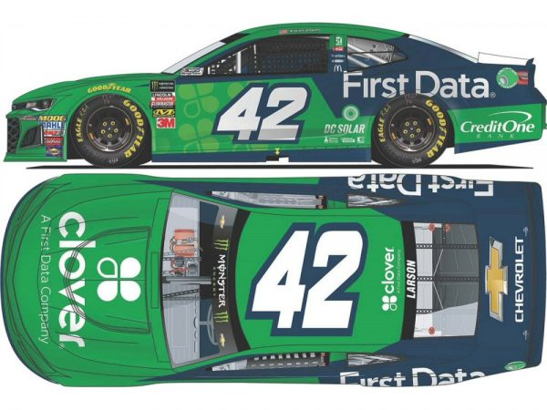 kyle larson 2018 clover/first data diecast