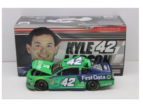 kyle larson 2018 clover first data 1/24diecast