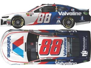 alex bowman 2018 valvoline diecast car