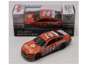 clint bowyer 2018 saavvy 1/64 diecast