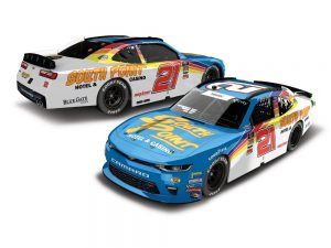 daniel hemric 2018 south point hotel casino throwback diecast