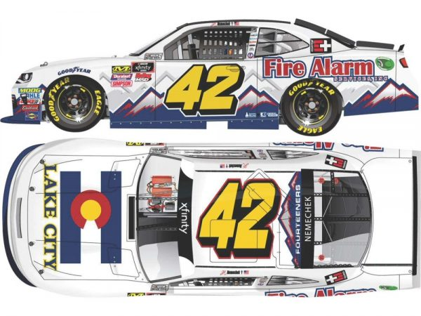 john hunter nemechek fire alarm services diecast