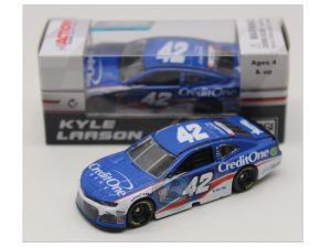 kyle larson 2018 credit one stripe 1/64 diecast
