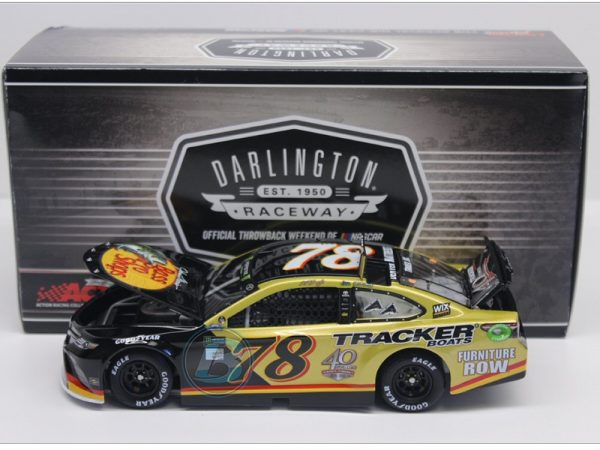 martin truex jr 2018 bass pro shops tracker boats 40th anniversary darlington diecast