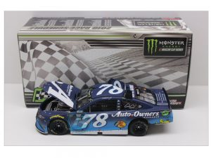 martin truex jr 2018 kentucky raced version win 1/24 diecast