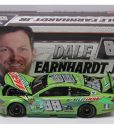 dale earmhardt jr 2017 mountain dew talladega raced version 1/24 diecast