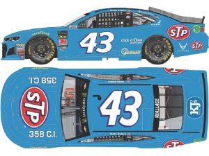 bubba Wallace 2018 stp Darlington throwback diecast
