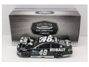 jimmie johnson lowes kobalt tools darlington throwback 1/24 diecast