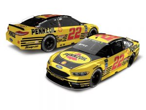 joey logano 2018 pennzoil darlington throwback diecast