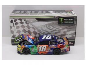 kyle busch 2018 pocono winner raced version 1/24 diecast