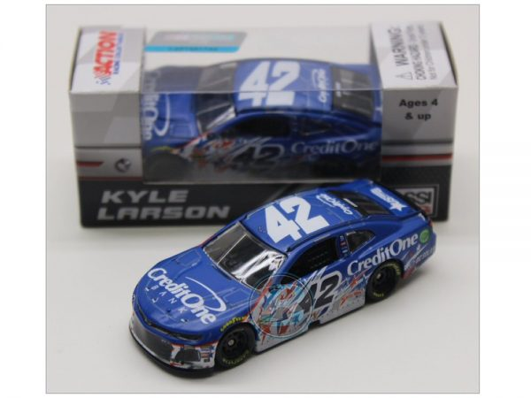 kyle larson 2018 credit one chacagoland 1/64 raced version diexast