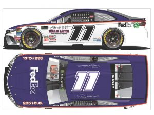 denny hamlin 2018 fedex darlington diecast