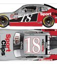 denny hamlin 2018 sports clips darlington throwback diecast