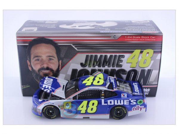 jimmie johnson 2018 lowes finale 1/24 diecast