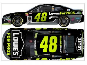 jimmie johnson 2018 lowes for pros diecast