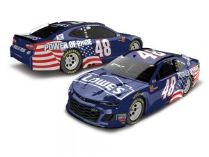 jimmie johnson 2018 power of pride nascar diecast