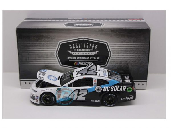 kyle larson 2018 dc solar darlington throwback 1/24 diecast