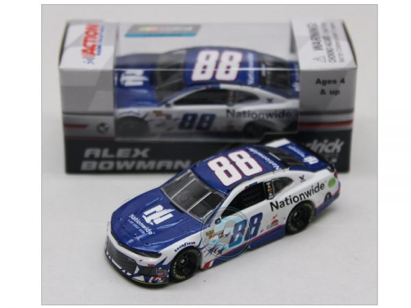 alex bowman 2018 nationwide patriotic 1/64 diecast