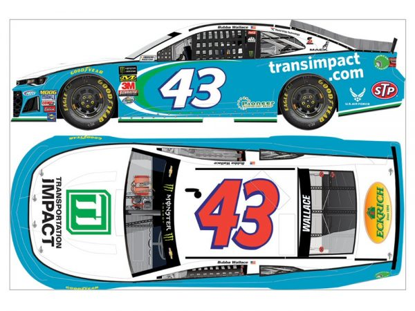 bubba wallace jr 2018 transpotation impact diecast