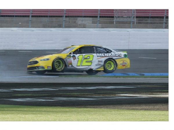 ryan blaney 2018 roval win raced version diecast
