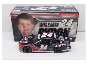 william byron 2018 liberty university patriotic 1/24 diecast