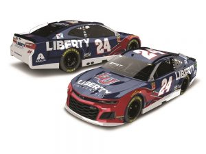 william byron 2019 liberty university nascar diecast