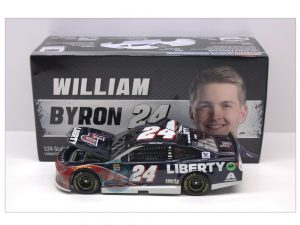 william byron 2019 liberty university 1/24 diecast