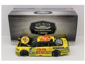 joey logano 2018 pennzoil darlington throwback 1/24 diecast