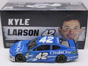 kyle larson 2018 credit one bank 1/24 diecast