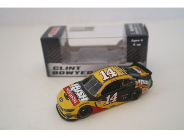 clint bowyer 2019 rush truck centers 1/64 diecast