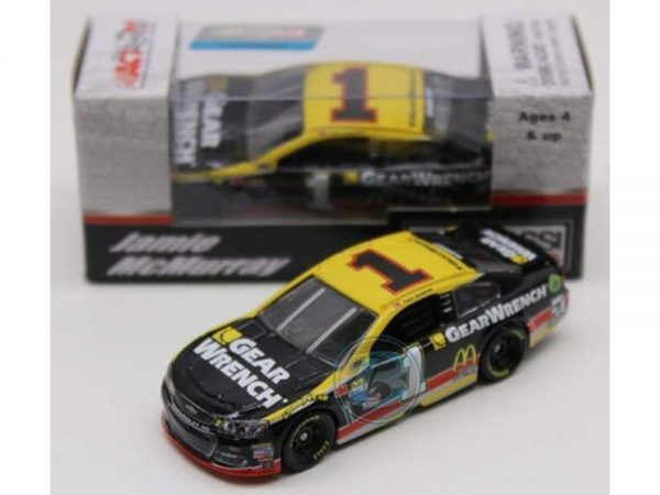 jamie mcmurray 2017 gearwrench 1/64 diecast