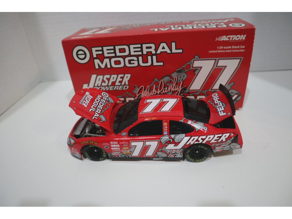 Robert Pressley #77 2000 Jasper Engines Action Black Window Diecast Car -  At The Track Racing Collectibles