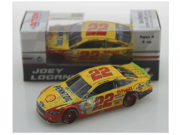 joey logano 2018 homestead win raced version 1/64 diecast