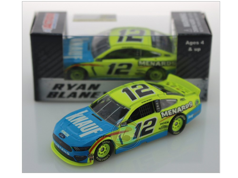 Ryan Blaney 2019 Menards/Knauf Insulation 1:64 Action Nascar Diecast Car -  At The Track Racing Collectibles