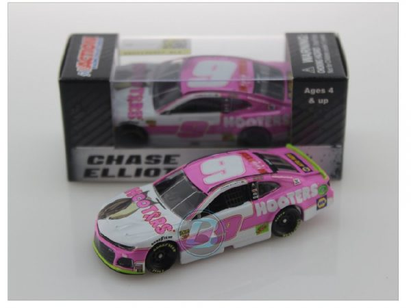 chase elliott 2019 hooters pink 1/64 diecast