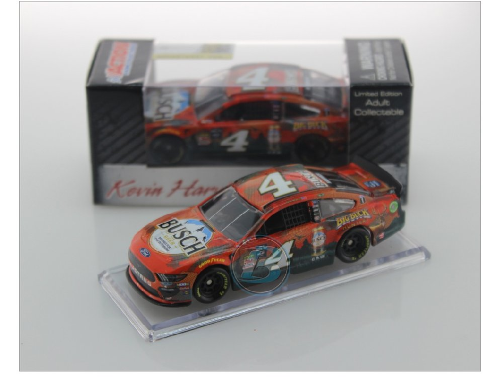 2019 KEVIN HARVICK #4 BUSCH BEER BIG BUCK HUNTER FORD 1//64 Action DIECAST New