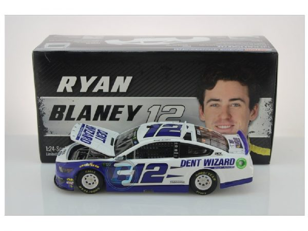 ryan blaney 2019 dent wizard 1/24 diecast