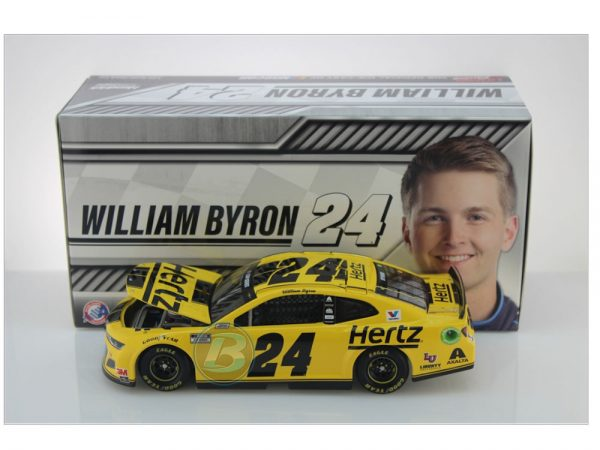 william byron 2020 hertz 1/24 diecast