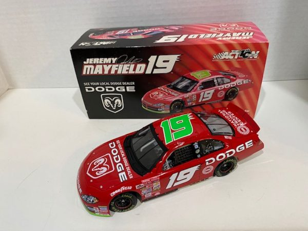 jeremy mayfield 2002 dodge dealers 1/24 diecast