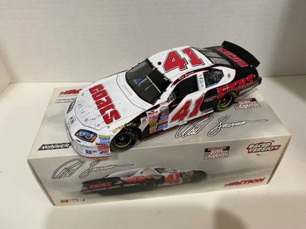 reed sorenson 2005 coats nashville raced version win 1/24 diecast