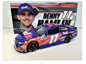 denny hamlin 2018 fedex ground 1/24 diecast