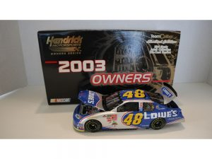 jimmie johnson 2003 lowes 1/24 diecast