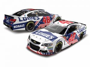 jimmie johnson 2017 patriotic 1/24 diecast