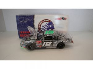 jeremy mayfiled 2002 doge clear body 1/24 diecast